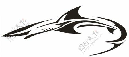 鲨鱼矢量图
