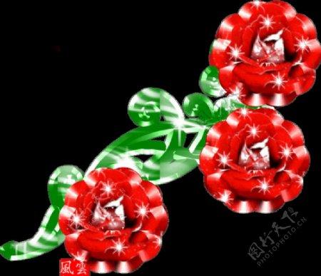 玫瑰花3D设计
