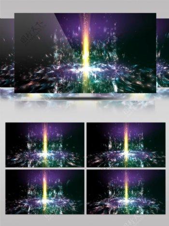 4K粒子光束广播动感DJ背景VJ视频