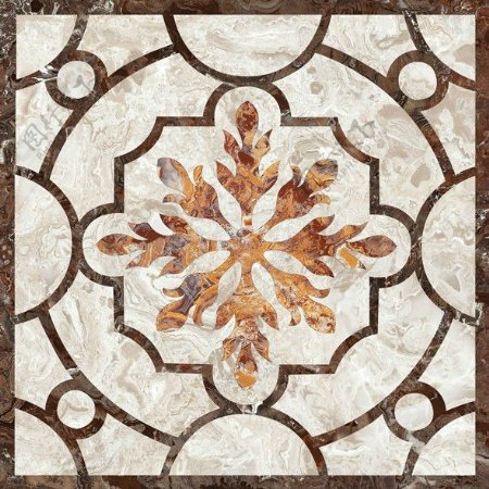 中式图案花纹瓷砖贴图