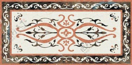 欧式拼花瓷砖贴图