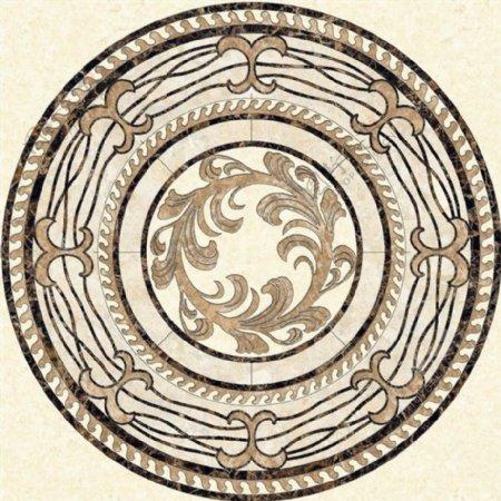圆形拼花欧式瓷砖贴图