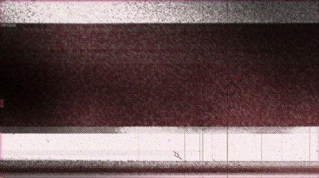 具有年代感的电视机噪点杂乱转场视频素材