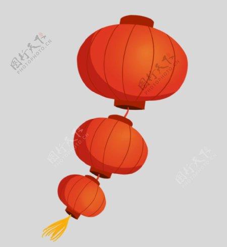 春节灯笼红灯笼