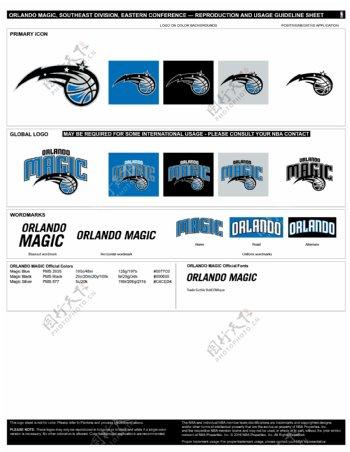 NBA奥兰多魔术logo
