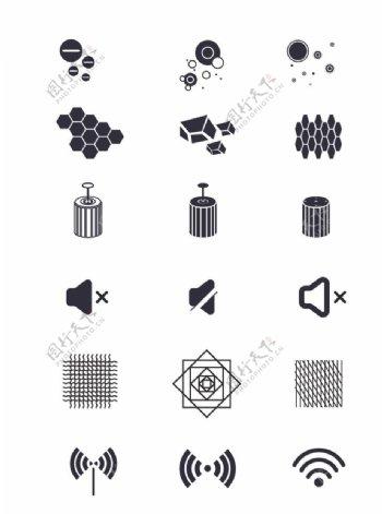 网络icons图标