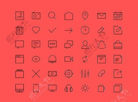 一套实用icons