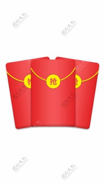 卡通节日红包素材