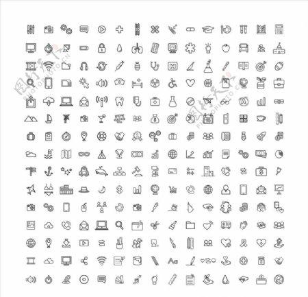 网页app图标ICON设计