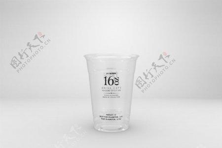 塑料饮料杯样机