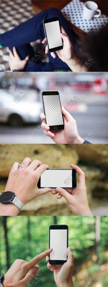 iPhone6s实景机型模板