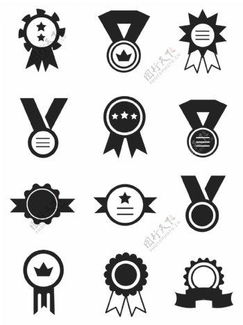 奖牌icons