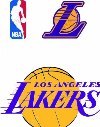 NBA湖人LOGO矢量
