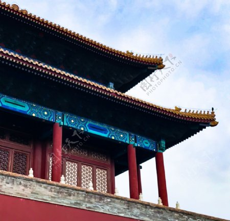 北京故宫天安门角楼