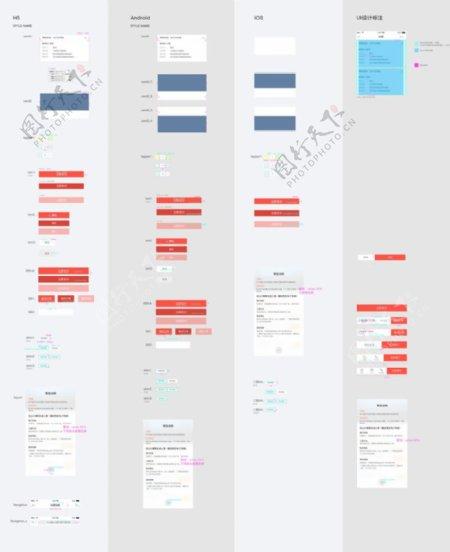 交互UI界面设计风格选择