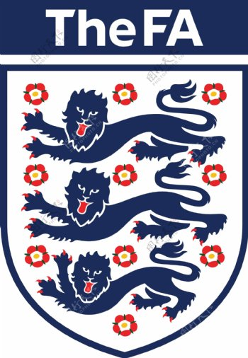 英格兰国家足球队队徽logo