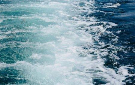 海浪海水浪花
