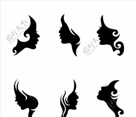 女人脸轮廓图片