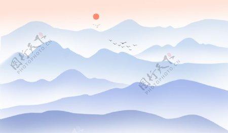 中式意境山水
