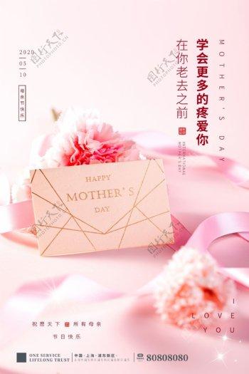 母亲节康乃馨海报