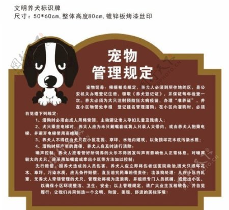 宠物管理规定