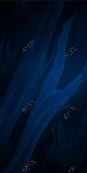蓝色渐变油画纹理