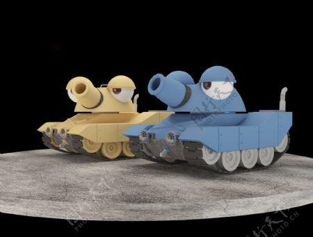 疯狂小坦克