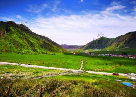 美丽的草原大地