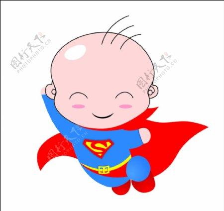 超人宝宝logo
