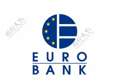 希腊欧元银行标志LOGO