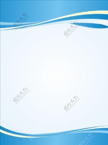 浅蓝色制度展板背景图片