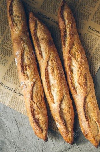 西餐面包图片