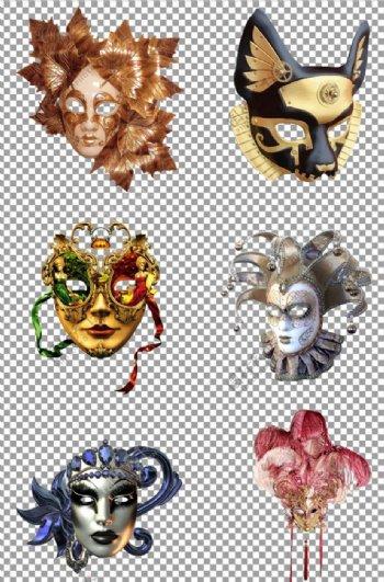 万圣节恐怖面具图片