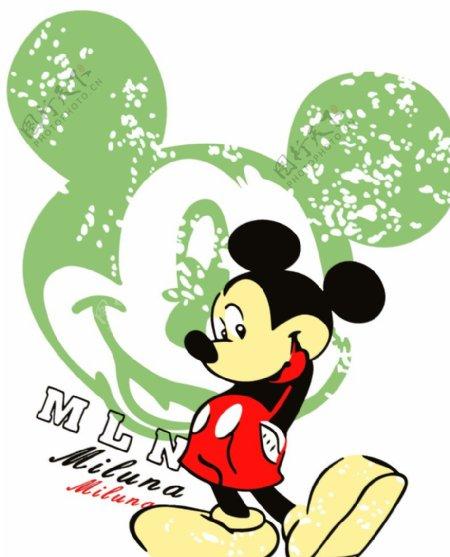 米奇米老鼠米呢卡通图片