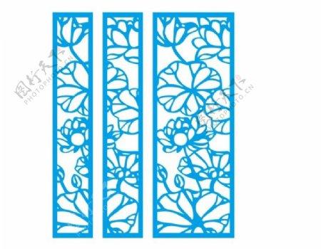花格窗花镂空花纹屏风镂图片