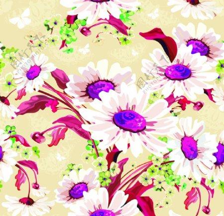 手绘水彩花卉图片