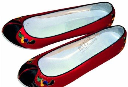 绣花鞋图片