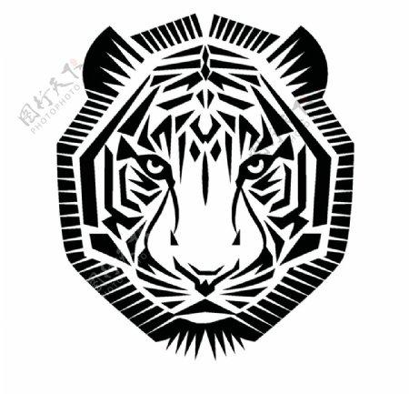 老虎标志图标图片