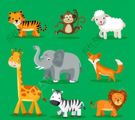 可爱动物设计图片