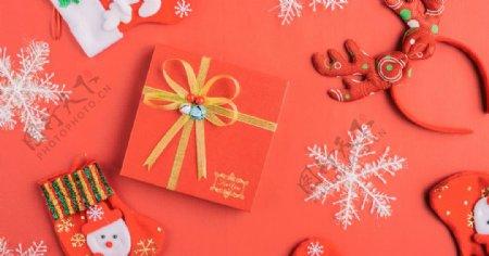 精致的圣诞节礼物图片