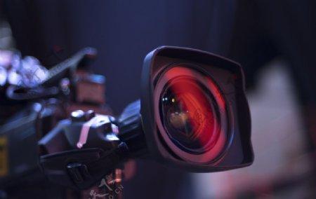 摄录机镜头记录背景海报素材图片