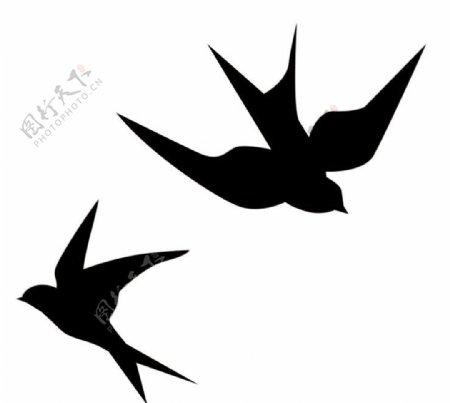 矢量燕子图片