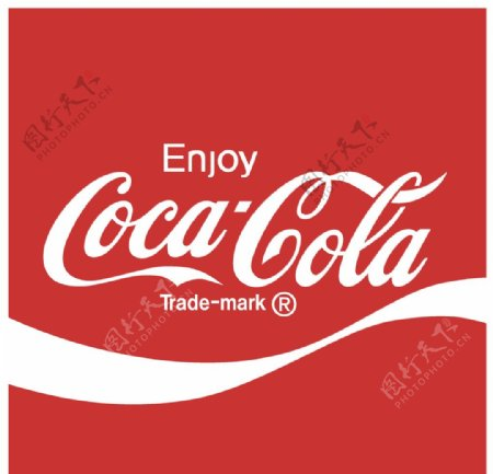 可口可乐logo2图片