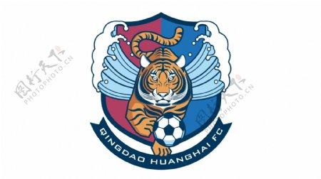 中超青岛黄海足球俱乐部队徽图片