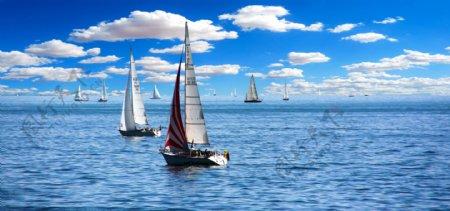 帆船帆假期夏季假日博登图片