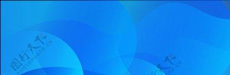 几何蓝色渐变大气扁平背景图片