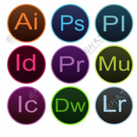 Adobe图标图片