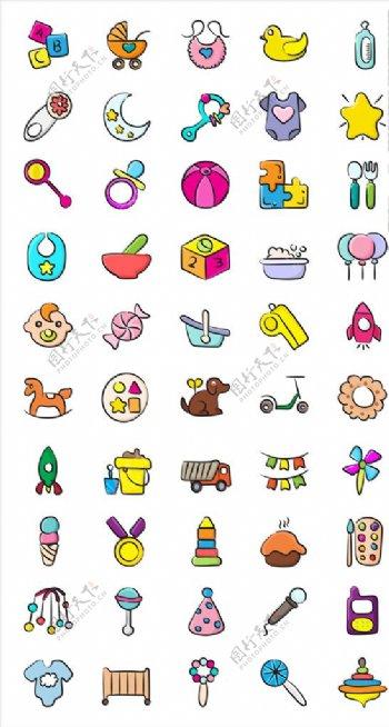 玩具简约icon图片