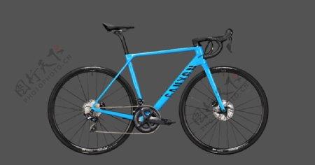 蓝色自行车交通工具背景图片