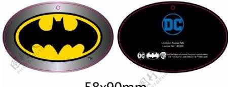 蝙蝠侠吊牌迪士尼吊牌图片